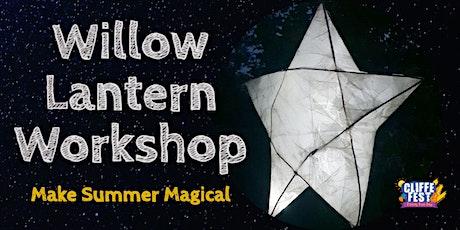 Cliffe Fest Willow Paper Lantern Workshop - 24th August tickets