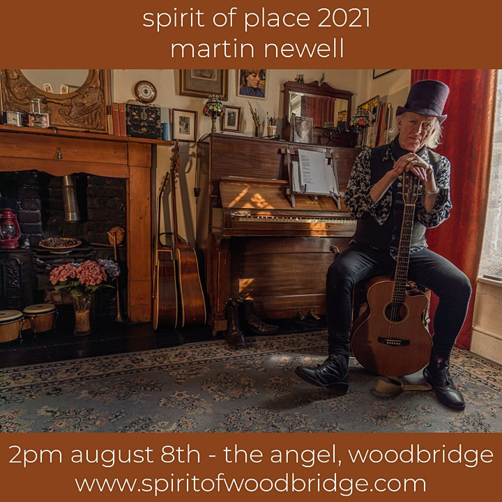 Spirit of Place 2021 - Sunday August 8th - w/ Martin Newell image