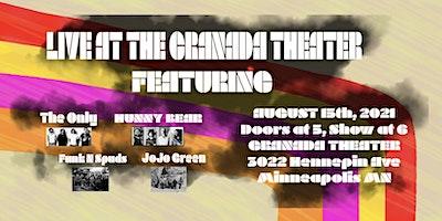 Jazz @ Granada featuring, The Only, HUNNY BEAR, Funk & Spuds & JoJo  Green