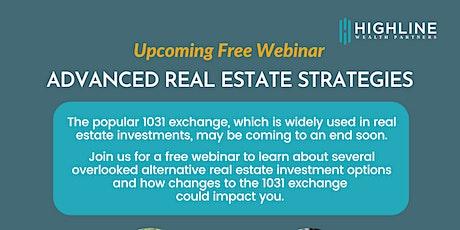 Advanced Real Estate Tax Strategies tickets