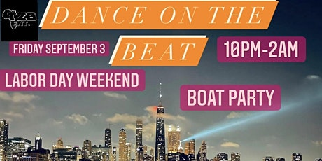 DANCE ON THE BEAT BOAT PARTY tickets