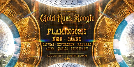Ego Trip Presents: Gold Rush Boogie feat. Flamingosis, N2N, SAAND, & More tickets