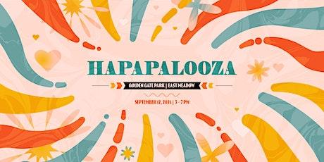 Hapapalooza: Summer of Love 2021 tickets