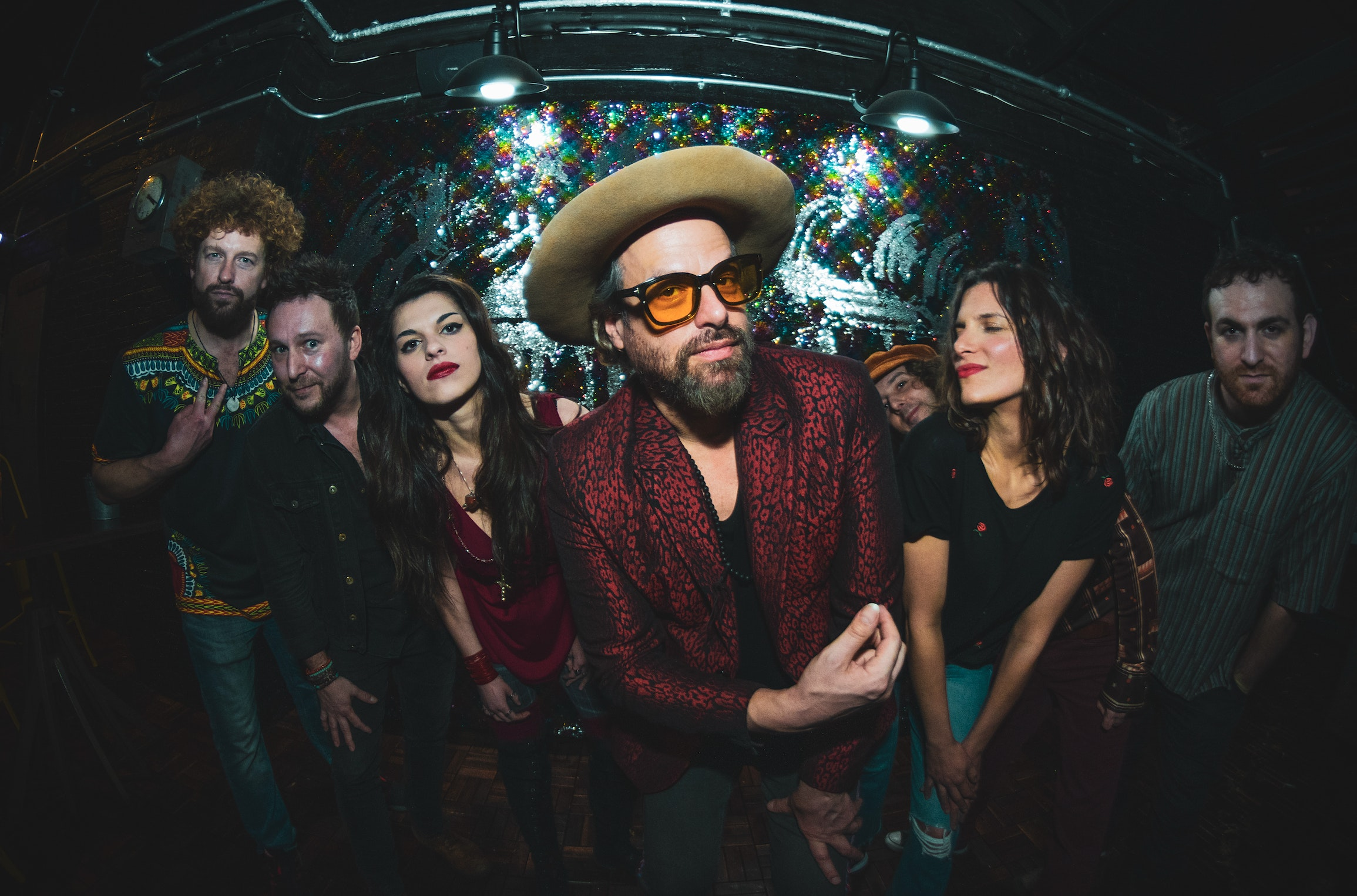 The Uprooted Band, featuring Michael Glabicki of Rusted Root