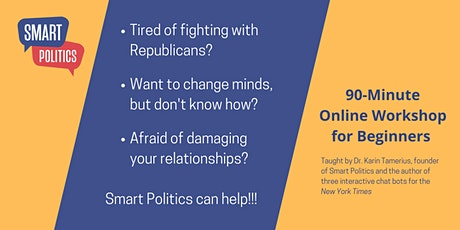 Smart Politics: Stop Arguing, Stop Avoiding, & Start Making A Difference tickets