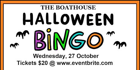 Halloween Bingo @ The Boathouse tickets