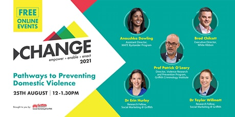 Online Change Event: Pathways to Prevent Domestic Violence tickets