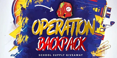 Operation BackPack- School Supply Giveaway tickets
