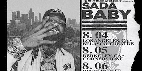 SADA BABY LIVE @ Belasco theater tickets