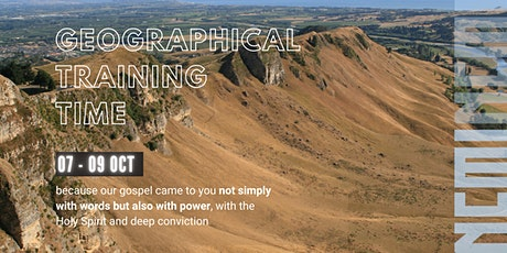 NCMI Geographical Training Time NZ tickets
