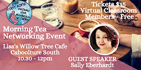 Five Foot Rope Morning Tea Networking Event - August tickets