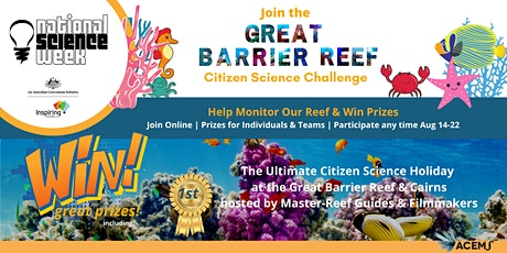 Great Barrier Reef Challenge (with Prizes) National Science Week tickets