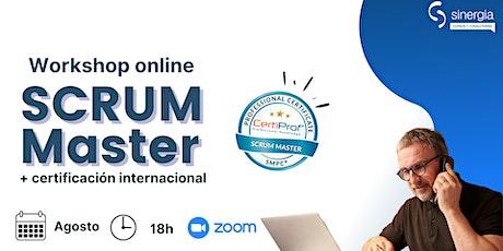 Scrum Master + Certificación SMPC entradas