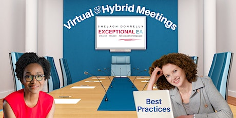 Best Practices for Virtual & Hybrid Meetings, with Shelagh Donnelly tickets