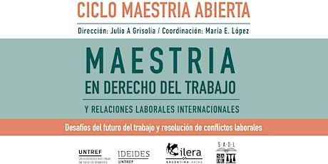 CICLO MAESTRIA ABIERTA. Encuentros virtuales en vivo 2021 entradas