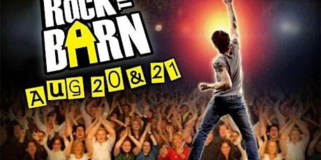 Rock the Barn 2021 tickets