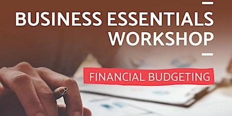 Business Essentials: Financial Budgeting tickets