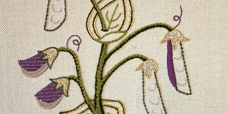 Introduction to Embroidery: Traditional Plant tickets