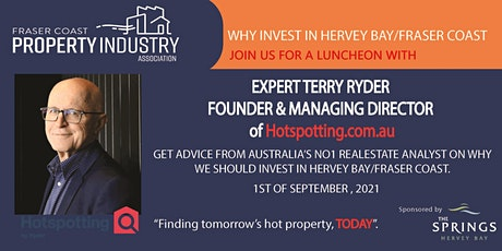 Terry Ryder from Hotspotting  Presentation - Why Invest In Hervey Bay tickets
