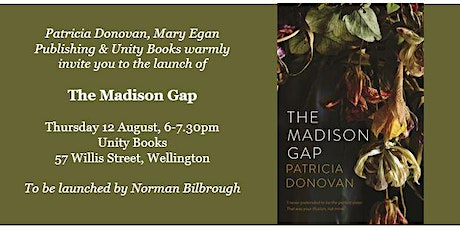 Book Launch | The Madison Gap by Patricia Donovan tickets