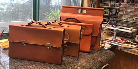 Hand Stitched Leather Satchel Workshop with Les Williams tickets