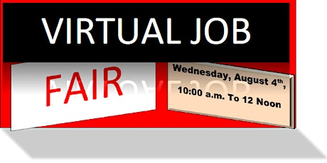 Montgomery County Back to Business Virtual Job Fair tickets