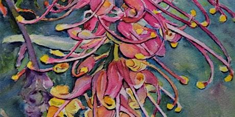 Flowers of the Illawarra Watercolour Workshop with Ann Clarke tickets