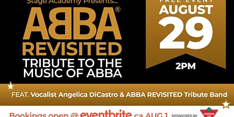 Stage Academy Proudly Presents: Angelica DiCastro  and Abba Revisited tickets