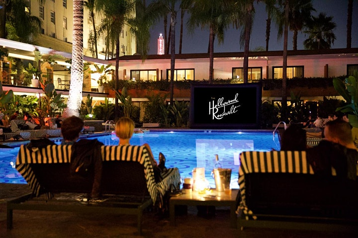 Tropicana Movie Nights August Lineup @ The Hollywood Roosevelt image