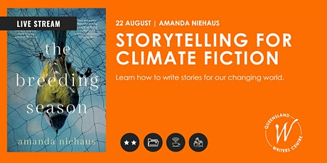 LIVE STREAM: Storytelling for Climate Fiction with Amanda Niehaus tickets