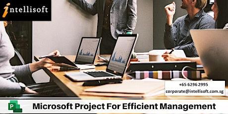 Microsoft Project Training tickets