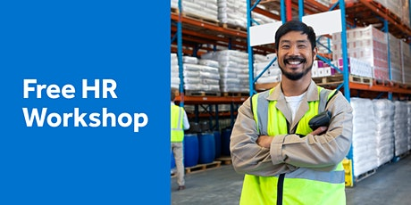 Workshop: Changing Work Health and Safety requirements and updates tickets