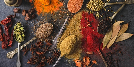 Part 1: Indian Cooking Masterclass by AditiI - Spice-ology/ Regions of Indi tickets