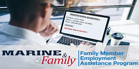 Targeted Federal Resume Workshop, Part 1 tickets