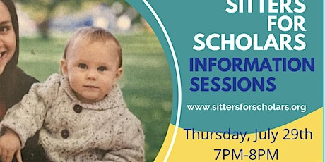 Sitters for Scholars Information Session tickets