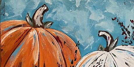 Paint Night in Rockland - Pretty Pumpkins tickets