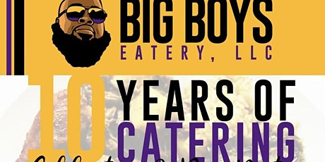Celebrating 10 years of catering tickets