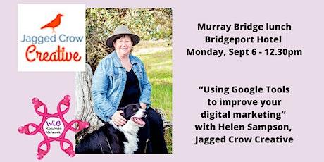 Murray Bridge  lunch - Women in Business Regional Network -  Mon 6/9/2021 tickets