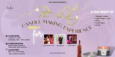 Be Lit Candle Making Experience tickets