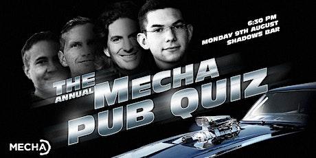 MECHA's Annual Pub Quiz 2021 tickets