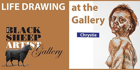Sunday Morning Casual Life Drawing with Chrystie tickets