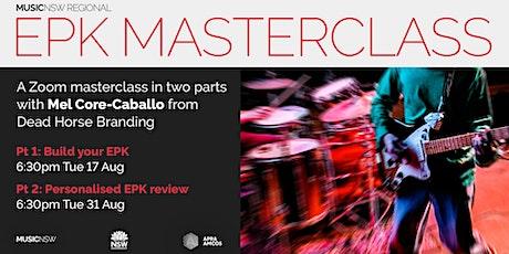 MusicNSW Regional presents: EPK Masterclass tickets