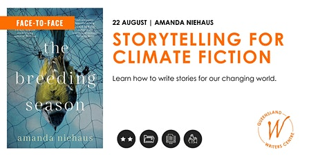 Storytelling for Climate Fiction with Amanda Niehaus tickets