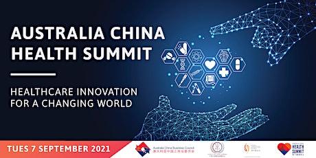 Australia China Health Summit tickets