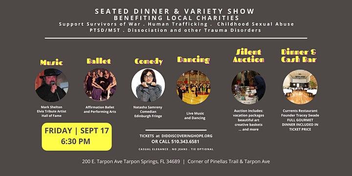 Dinner & Variety Show | A Collaboration with Dr. Darlene Williams image