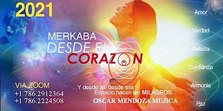 TALLER MERKABA DESDE EL CORAZON - ZOOM entradas