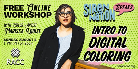 Intro to Digital Coloring - Free Workshop with Marissa Louise tickets