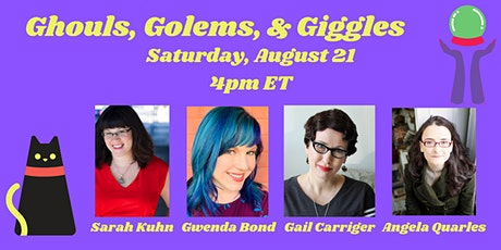 Ghouls, Golems, and Giggles - Humor in paranormal and supernatural romance tickets