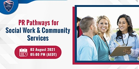 Webinar on PR Pathway for Social Work & Community Services tickets