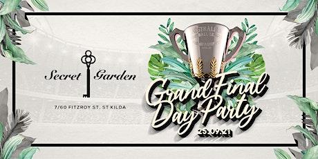 GRAND FINAL DAY 2021 @ SECRET GARDEN tickets